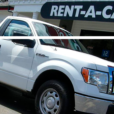 Rent car pick-up